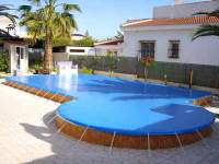Spanish pool covers